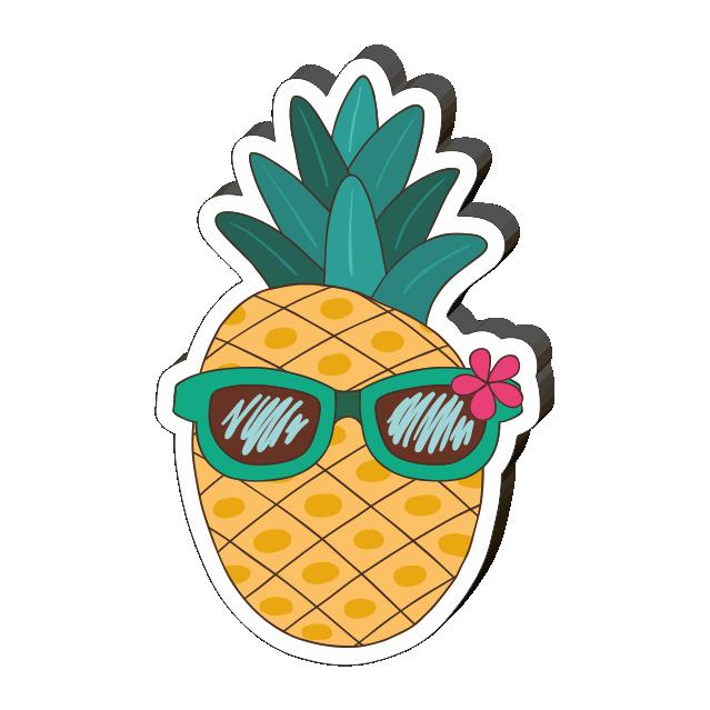 картинки ананасов в очках мамадыше
